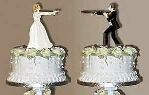 Say I Dont With A Delicious Divorce Cake